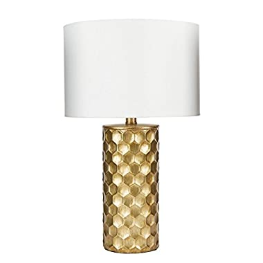 Silverwood LT1367-COM the Hive Gilded Table Lamp with Shade, 21  H, Gold