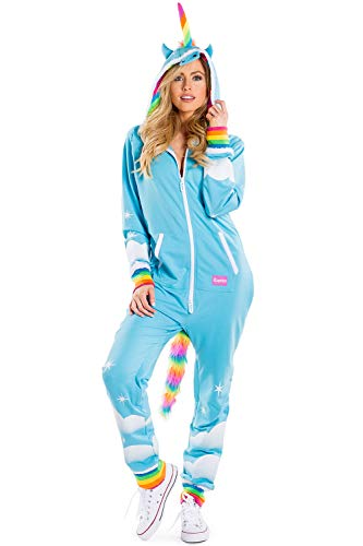 Tipsy Elves' Women's Unicorn Costume - Cute Comfy Colorful Halloween Jumpsuit Size Small