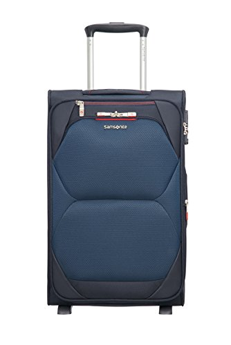 SAMSONITE Dynamore Upright Expandable Length 35cm - 2.4 kilogram, Koffer, 55 cm, 43 Liter, Blue