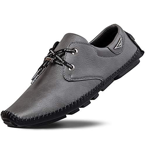 [DCZCELG] ドライビングシューズ メンズ スポーツサンダル おしゃれ 手織り靴 カジュアル ローファー モカシン スニーカー 軽量 通気(サイズが0.5cm小さい)