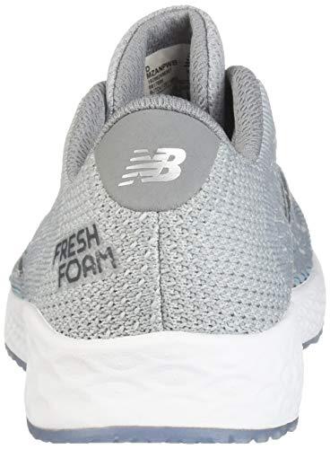 New Balance - Zapatillas de correr Fresh Foam Zante Pursuit V1 para hombre, Gris (Light Aluminum/Steel/Deep Ozone Blue), 40.5 EU