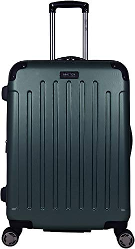 "Kenneth Cole Reaction Renegade 24"" Lightweight Hardside Expandable 8-Wheel Spinner Checked-Size Luggage, Eden Green"