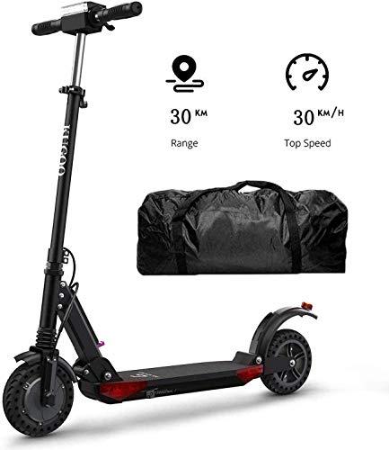 Kugoo S1 Pro Eléctrico Scooter Plegable, Patinete eléctrico para Adultos, Scooter eléctrico Velocidad Máxima 30 km/h, 30 km de Autonomía, Motor de 350 vatios, 3 Modos de Velocidad