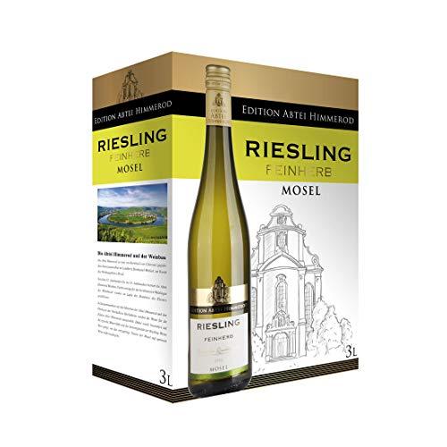 Bag-in-Box - 2019 Qualitätswein Mosel Riesling Feinherb - Edition Abtei Himmerod - Deutschland - Mosel - Weißwein, trocken, Box mit:1 Box