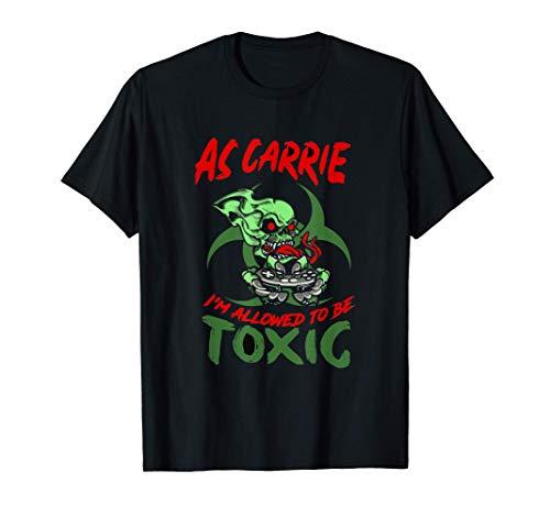 Wenn einer wieder Carrien muss! Kaptain T-Shirt für MVP T-Shirt