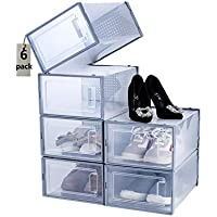 6-Pieces Budding Joy Stackable Shoe Organizer