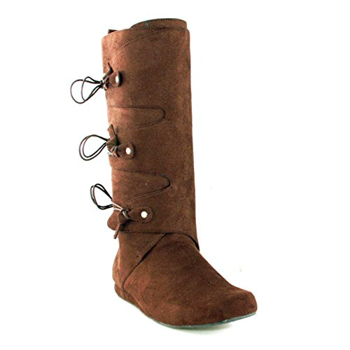 Ellie Shoes Men's 1' Heel Boot M BRWN