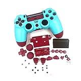 LICHIFIT Gamepad Shell FAI DA TE Controller Custodia Copertura per PS4 Controller Pelle Sostituzione