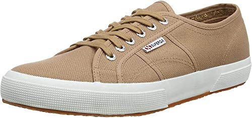 Superga 2750 COTU Classic Sneakers, Zapatillas Unisex Adulto, Marrón (Brown Dusty Wg6), 44.5 EU