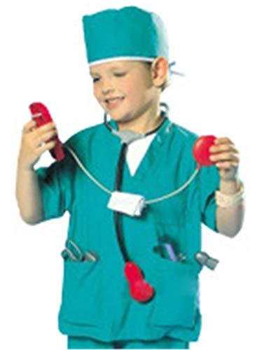 EZSTAX Disfraz de Enfermero para Niños de Halloween