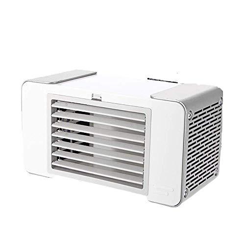 Mini portátil USB evaporativo del acondicionador de aire del refrigerador de aire del ventilador de Ministerio del Silencio tabla del escritorio del ventilador eléctrico de refrigeración por aire vent