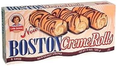 Little Debbie Boston Creme Rolls, 6-count Box