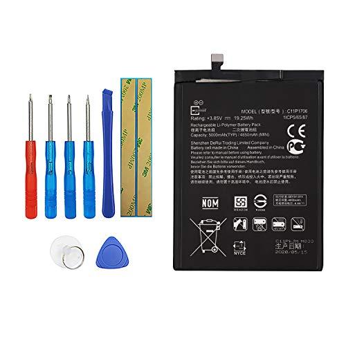 E-YIIVIIL C11P1706 - Batería de repuesto compatible con Asus ZenFone Max Pro M1 ZB601KL ZB602KL con kit de herramientas