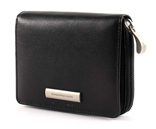 Mandarina Duck Hera 3.0 Zip Wallet M Black