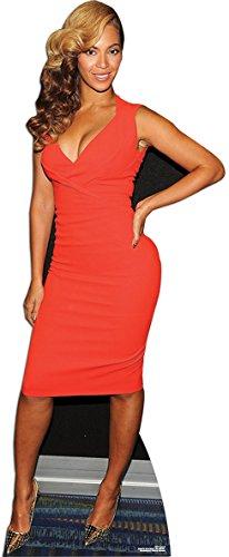 171 x 68 cm großer Pappaufsteller der Musikerin und Ex-Destinys Child Star Beyonce