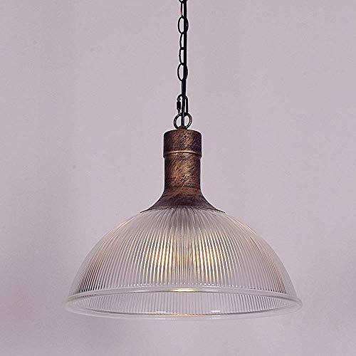 Luz colgante moderna Moderna araña de cristal minimalista Vintage Chandelier Shade Shade Colgante Colgante de techo E27 / E26- Medidores claros, ajustables, adecuados para la cocina, comedor y salón b