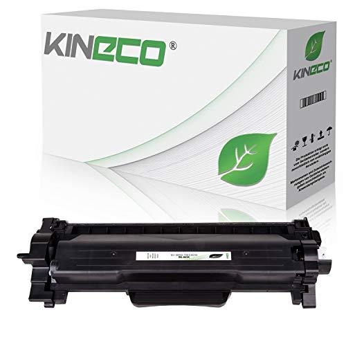 Kineco Toner mit CHIP kompatibel für Brother TN-2420 TN-2410 TN2420 HL-L3270CDW HL-L2310D HL-L2350DW HL-L2357DW HL-L2370DN HL-L2375DW DCP-L2510D DCP-L2530DW DCP-L2550DN Black/Schwarz 3.000 Seiten