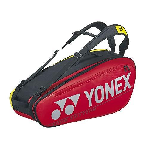 ヨネックス(YONEX) テニス ラケットバッグ6 (6本収納可能) レッド BAG2002R