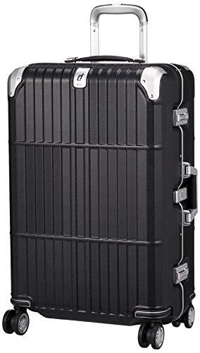 [エー・エル・アイ] スーツケース departure ハードキャリー 保証付 63L 4.6kg レザーマットブラック
