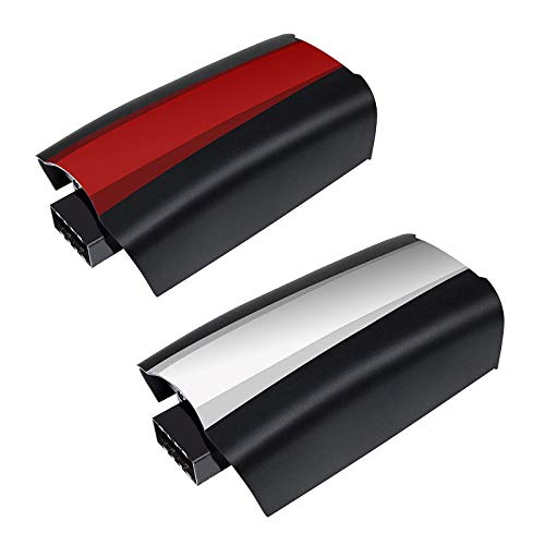 Bonacell Upgraded 3100mAh 11.1V Replacement Battery Li-ion 2 Packs for Parrot Bebop 2 Drone/Bebop 2 FPV/Parrot Bebop 2 SkyController (with Red and White Color Stickers)