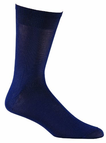 Fox River Wick Dry Auras Ultra Light Liner Crew Socken, Dark Navy, Medium