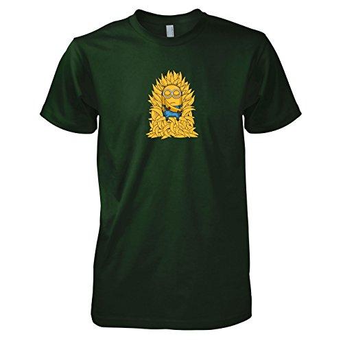 Texlab - Banana Throne - Herren T-Shirt, Größe XXL, flaschengrün
