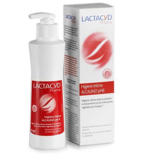 Lactacyd Alcalino Ph 8 Higiene Íntima Externa Durante el Tratamiento de las...
