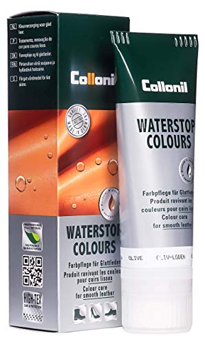 Collonil Waterstop Colours Schuhcreme oliv-loden, 75 ml