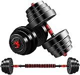 LCNING Réglable Haltères Set Poids réglable Set Main, Culturisme Équipement d'exercice Kit Eau (Couleur : 10kg)