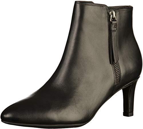Clarks Calla Blossom Womens Ankle Boots Schwarz 37.5 EU