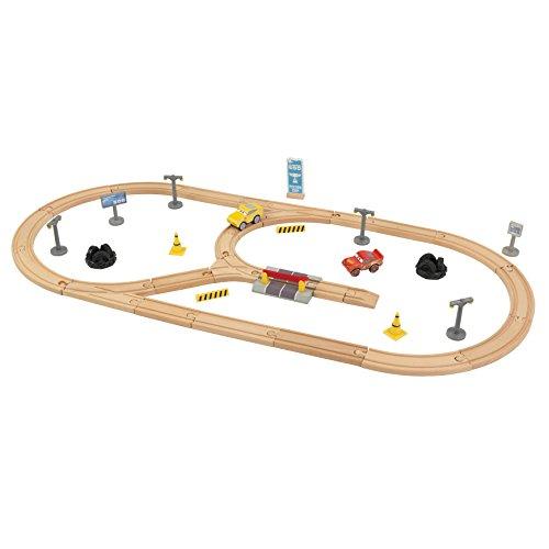 KidKraft 17213 Disney® Pixar Cars 3 Juego de madera Construye Tu Propio...