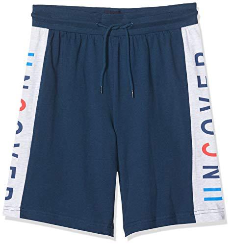 Schiesser Jungen Mix & Relax Longboxer Schlafanzughose, Blau (dunkelblau 803), (Herstellergröße:152)
