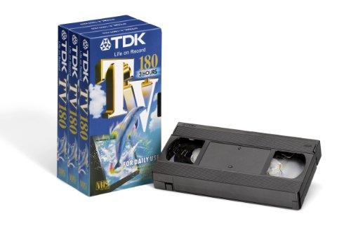 TDK TV 180 min, 3 pezzi