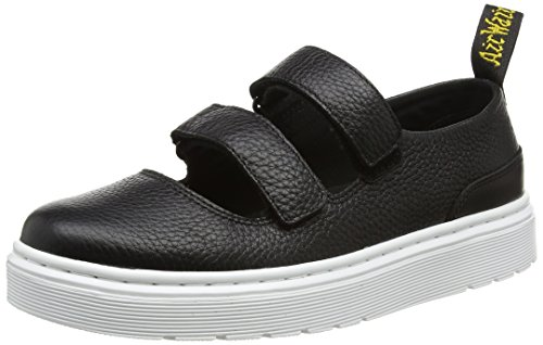 Dr. Martens Damen Mae Slipper Schwarz (Black Aunt Sally/Temperley) 40 EU