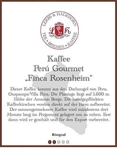 "Perú Gourmet ""Finca Rosenheim"" Kaffee 1kg"
