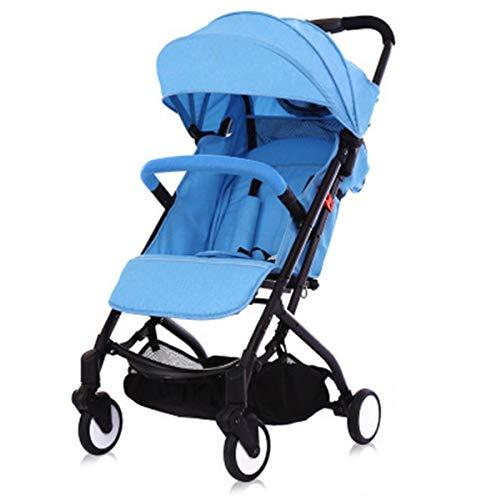 Not a brand El bebé portátil Ultraligero Puede Sentarse y acostarse en el Cochecito, Doblar el Cochecito, un Cochecito Que se Puede Transportar en un carruaje de bebé de avión