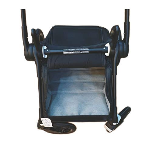 Cubre cesta impermeable para silla Rosy Fuentes en negro (Exclusivo para Bugaboo Bee)