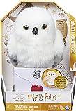 Wizarding World 6061829 Harry Potter - Interaktive Plüsch-Eule Hedwig mit über 15 Geräuschen und Bewegungen