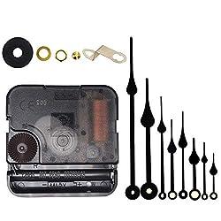Include Hands Quartz DIY 12888 Wall Clock Movement Mechanism Battery Operated DIY Repair Parts Replacement