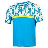 Babolat Compete Crew Neck tee Men Camiseta, Hombre, Malibu Blue, L