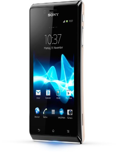 günstig Sony Xperia J Smartphone (10,2 cm (4 Zoll) Touchscreen, Qualcomm, 1 GHz, 512 MB RAM, 5-Megapixel-Kamera, Android 4.0) Gold