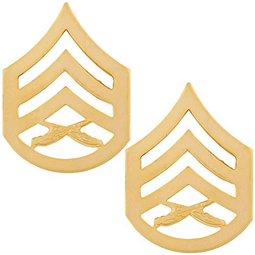 Marine Corps Staff Sergeant Rank Pin