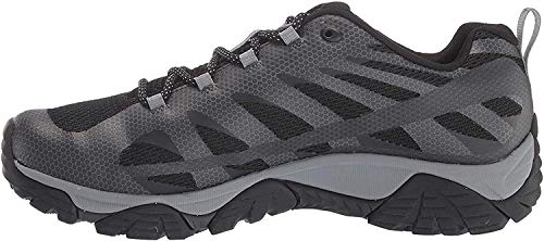 Merrell mens Moab Edge 2 Hiking Shoe, Black, 11 US