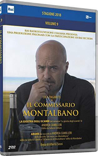 Il Comm.Montalbano 9 (Box 2 Dvd) (Stagione 2018)