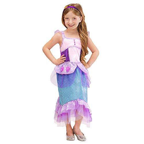Widmann Widmann sirene en Poseidon kostuum voor kinderen 116 cm / 4; 5 anni Veelkleurig.