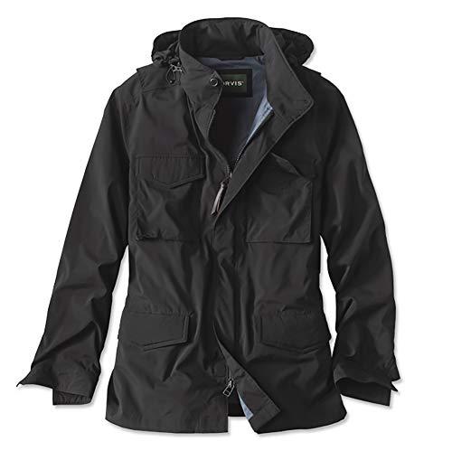 Orvis Men's Burrows Field Jacket, Black, Large