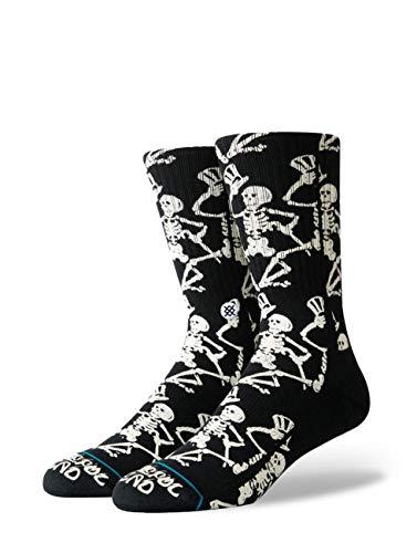 Stance Grateful Skulls Socken schwarz/weiß, M