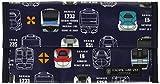 抗菌マスクケース 携帯用 マスク収納 持ち運び マスクポーチ ダブルポケット 電車コレクション※JR東日本商品化許諾済 ND201300