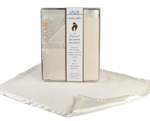 Creme Comfort silkie security Blanket ~ The Original. The Best. award winning. by Comfort silkie