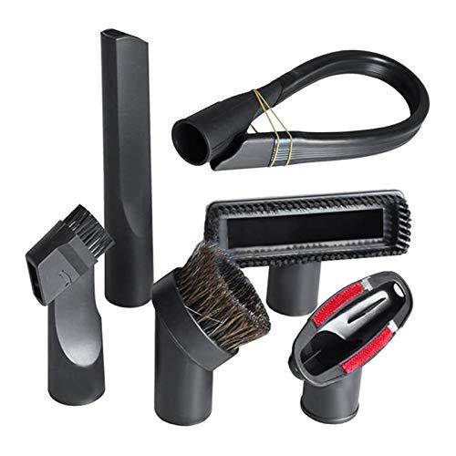 ZRNG Ajuste Adecuado for el reemplazo de la aspiradora de gibtool 32 mm (1 1/4 Pulgada) Kit de Cepillo Accesorio de vacío La instalación es Simple y fácil de Usar. (Color : Black)